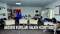 Tarsus Belediyesi Akademi Kursları Halkın Yoğun Katılımıyla Devam Ediyor