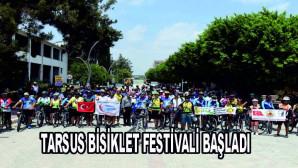 TARSUS BİSİKLET FESTİVALİ BAŞLADI