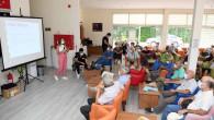 Büyükşehir, Emekli Evi Üyelerini Aşırı Sıcağa Karşı Bilgilendirdi