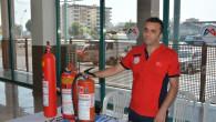 Büyükşehir'den Taşti Personeline Yangın Eğitimi