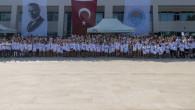 Büyükşehir'in Yaz Spor Kurslarının 1'inci Etabı Tamamlandı