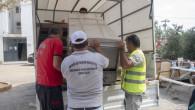 Mersin Büyükşehir, Yangının Küllerini Ortadan Kaldırıyor
