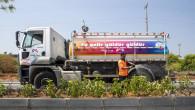 Mersin Büyükşehir'den 4. Çevre Yolu'nda Peyzaj Çalışması