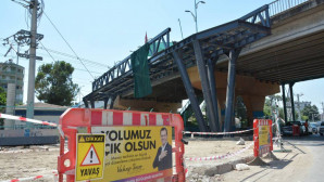 Büyükşehir, Sunay Atilla Üst Geçiti'ni Yeniliyor