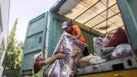 Büyükşehir'in Yardım Tırı Yangınzedeler İçin Yola Çıktı