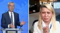 Afgan gazeteci NATO Genel Sekreteri'ne yalvardı! Canlı yayın sırasında: Ne olur Taliban'ı tanımayın