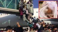Dünyayı utandıran kare! Afganistan'dan kaçmak isterken can veren 14 yaşındaki kızın kefenlenmiş fotoğrafı yayınlandı