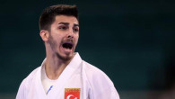 Karate erkekler 67 kg'da güçlü Japon rakibini yenen Eray Şamdan, olimpiyat madalyasını garantiledi