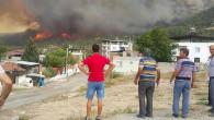 Yangın Muğla'dan Aydın'a sıçradı! Çine'de 6 mahalle boşaltıldı