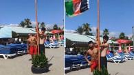 Alanya'daki plaja Afgan bayrağı çekildi iddiasına Valilik'ten cevap: Görüntüler 2018 yılına ait, şahıslardan biri Türk vatandaşı