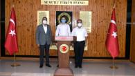 Başkan Bozdoğan, Çamlıyayla Kaymakamı, Belediye Başkanı Ve Rütbe Alan Tarsus Garnizon Komutanı'nı Ziyaret Etti
