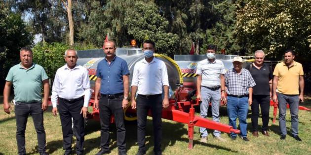 Tarsus Belediyesi Orman Yangınlarını Söndürme Çalışmalarına Destek Olmaya Devam Ediyor