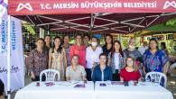 """Mersin Büyükşehir'in """"Evimiz Atölye"""" Projesi Büyüyor"""