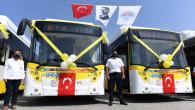 Büyükşehir'in Otobüsleri Etap Etap Yenileniyor