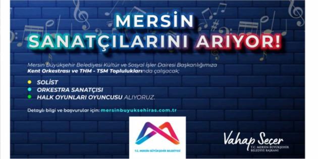 Mersin Büyükşehir, Yeni Alımlarla Kültür-Sanat Ekibini Güçlendirecek
