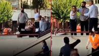 Turgutluspor-Bayburt Özel İdarespor maçında skandal olay! Başkanın eşi tribünlere el hareketi yaptı
