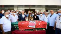 Başkan Seçer, Bora Yorulmaz'ı Son Yolculuğuna Uğurladı
