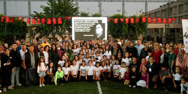 Başkan Seçer, Kır Çiçekleri Ve Aileleri İle Bir Araya Geldi