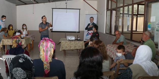 Halk Sağlığı Eğitimleri Çopurlu Mahallesi'yle Sürdü