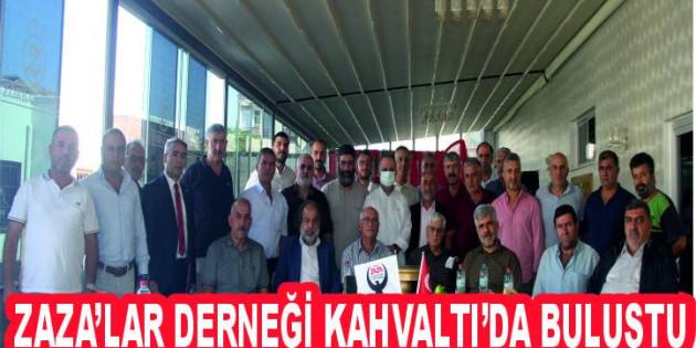 Mersin İl Ve İlçeleri Zaza Derneği Tarsus'ta Üyeleriyle Zorbaz Otel De Kahvaltı Buluştu