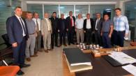 Mersin Emlakçılar Odası'ndan Tapu Müdürlerimize Anlamlı Ziyaret
